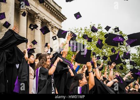 College students Graduation - Stock Photo