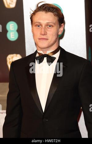 George Mackay in The EE British Academy Film Awards