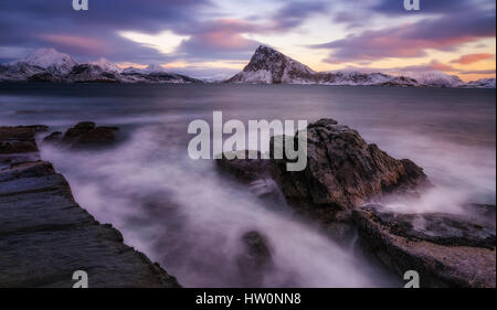 Lofoten in Winter - Stock Photo