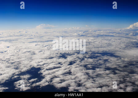 over the clouds, ‹ber den Wolken - Stock Photo