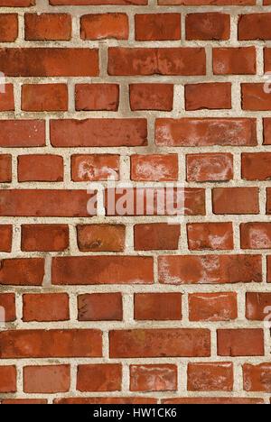 backsteinmauer ziegelsteinmauer a brick wall stock photo streichen