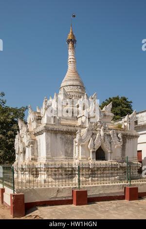 Small Temple at Shwezigon Temple, Bagan, Myanmar - Stock Photo