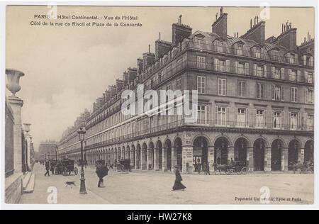 Rue de paris france 1900 station de metro opera stock photo royalty free ima - Hotel continent paris ...