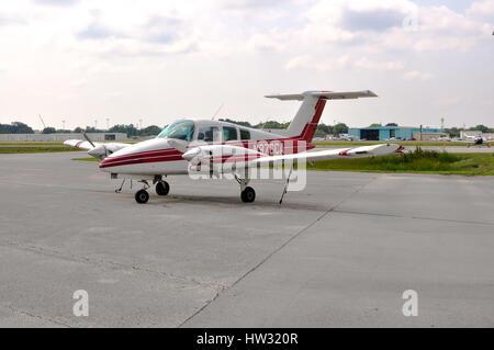 Duchess Beechcraft 76, Kissimmee, Florida - Stock Photo