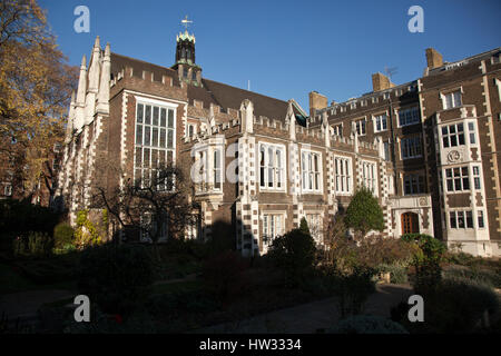 Inns of Court, The Honorable Society of the Middle Temple, London, UK - Stock Photo