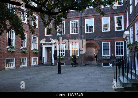 Inns of Court, The Honorable Society of the Inner Temple, London, UK - Stock Photo