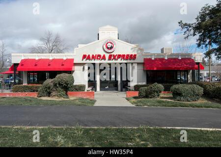 Panda Express Fast Food Shopping Mall Food Court United