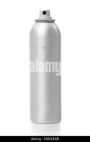 Spray can isolated on white background - Stock Photo