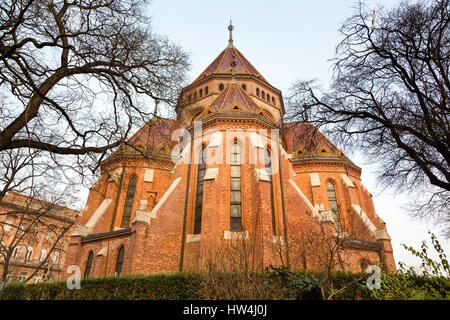 Calvinist Church. Budapest Hungary, Southeast Europe - Stock Photo