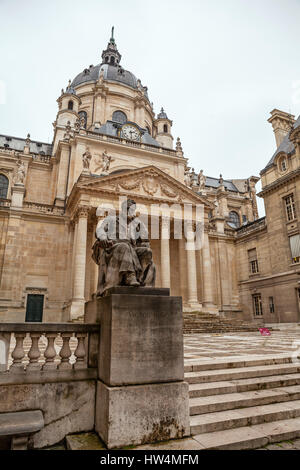 PARIS, FRANCE - JULY 10, 2014:Sorbonne university. The University of Paris ( Universite de Paris ), famous university - Stock Photo