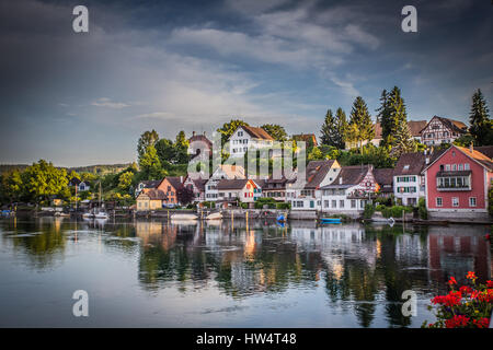 River Side Houses - Stock Photo