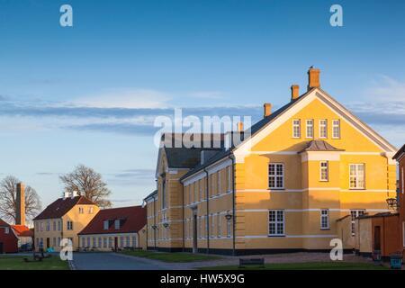 Denmark, Zealand, Helsingor, Kronborg Castle, also known as Elsinore Castle from Shakespeare's Hamlet, castle buildings - Stock Photo