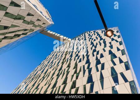 Denmark, Zealand, Copenhagen, Bella Sky Hotel Towers Stock Photo