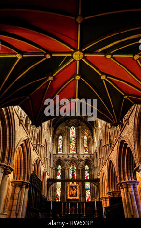 Hexham Abbey, Northumberland - Stock Photo