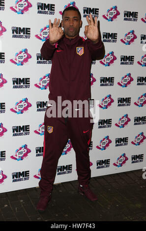 VO5 NME Awards 2017 - Arrivals  Featuring: Wiley Where: London, United Kingdom When: 15 Feb 2017 - Stock Photo