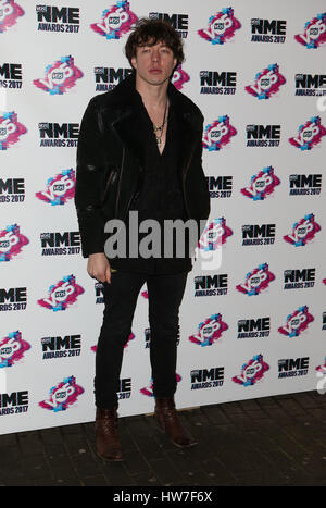 VO5 NME Awards 2017 - Arrivals  Featuring: Guest Where: London, United Kingdom When: 15 Feb 2017 - Stock Photo