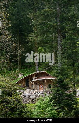 france vosges la bresse outdoor activities bol d air treehouse stock photo royalty free. Black Bedroom Furniture Sets. Home Design Ideas