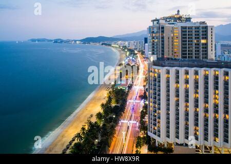 Vietnam, Khanh Hoa province, Nha Trang Bay - Stock Photo