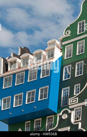 ... A mix of modern and traditional Dutch architecture. The famous typical  Dutch houses stacked on