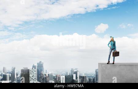Big city life - Stock Photo