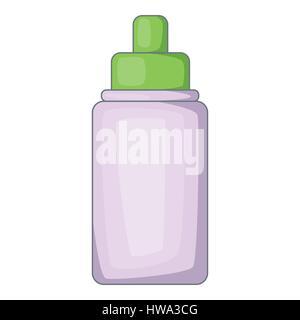 Nasal drops icon, cartoon style - Stock Photo