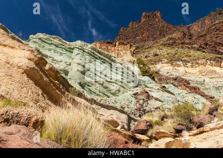 Gran canaria fuente de los azulejos coloured rocks created by stock photo royalty free image - Los azulejos gran canaria ...