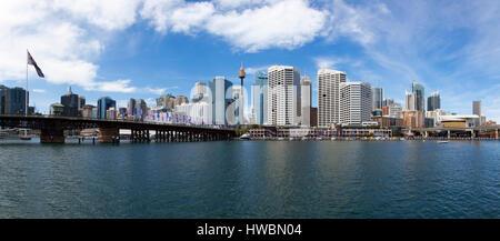 Darling Harbour, Sydney, Australia - Stock Photo