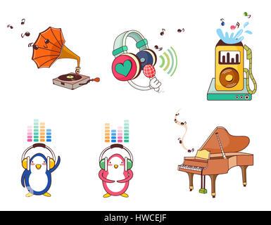 arrangement,arts culture and entertainment,bizarre,collection,color image,concepts,creativity,depiction,display,enjoyment,front - Stock Photo