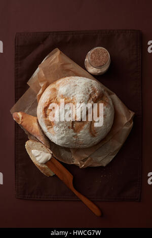 Different bread isolated - Stock Photo