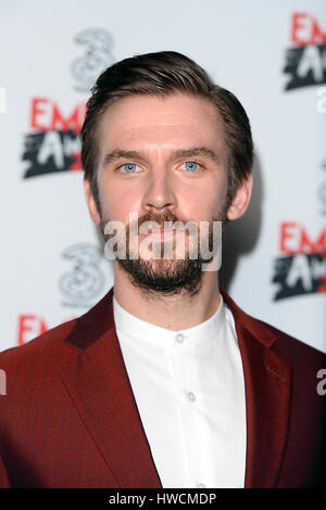 Dan Stevens in the winners room at the Three Empire Awards held at The Roundhouse in Chalk Farm, London. PRESS ASSOCIATION - Stock Photo