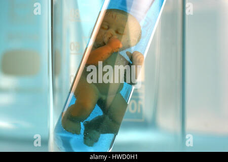 Test-tube baby, effigy, alike, resemblance, alike, resemblance, appearance, concepts, biologically, biological, - Stock Photo