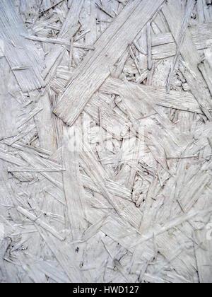 White background from wooden fibers, Weißer Hintergrund aus Holzfasern - Stock Photo