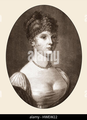 Louise of Mecklenburg-Strelitz, 1776-1810 - Stock Photo