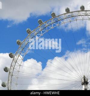 Coca Cola London eye London United Kingdom - Stock Photo