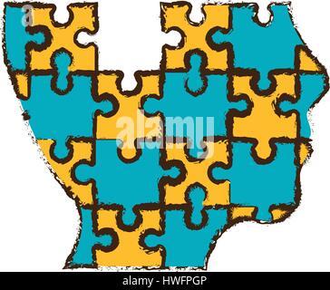 head puzzle pieces image