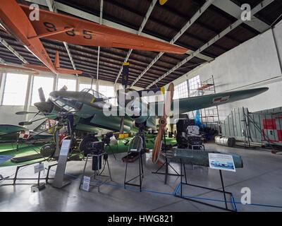 Russian Tupolev Tu-2 'Bat' WW II at the Krakow Aviation museum in Poland - Stock Photo