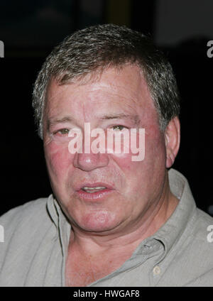 Actor William Shatner poses for photographers during a promotion of his new music album, ' Has Been. Better to be - Stock Photo