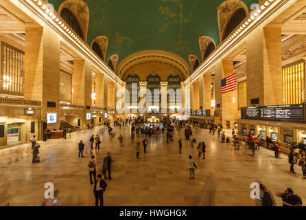 Grand Central Terminal, Manhattan, New York City, New York, USA - Stock Photo