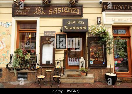 Miodowa Street Warsaw Poland Stock Photo 4675313 Alamy