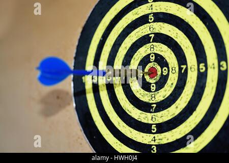Abstract photo of darts. - Stock Photo