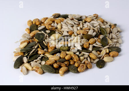 Salad seeds, parched, salad cores, roasted roasted, parched | Salatkerne, geroestet geröstet - Stock Photo