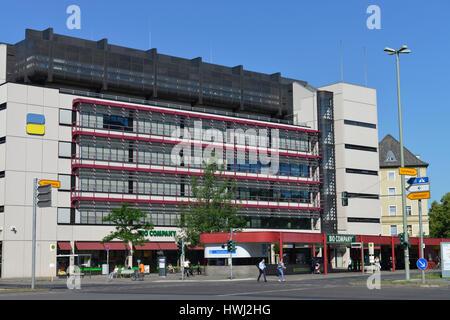Deutsche Rentenversicherung, Fehrbelliner Platz, Wilmersdorf, Berlin, Deutschland - Stock Photo