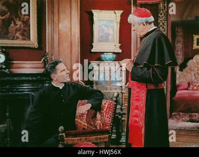 The Cardinal, aka: Der Kardinal, USA 1963. Regie: Otto Preminger, Darsteller: Tom Tryon, John Huston - Stock Photo