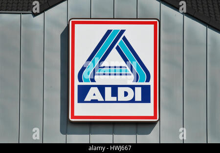 Aldi Markt Stock Photo 52766921 Alamy