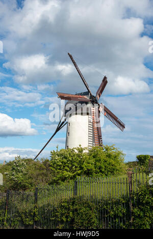 Windmill, Skerries, County Fingal, Ireland - Stock Photo