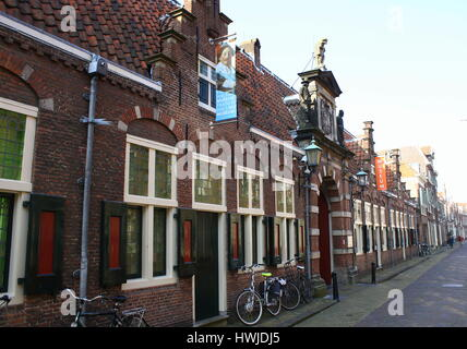Frans Hals Museum, municipal museum in Haarlem, Netherlands at Groot Heiligland street. Established in 1862 - Stock Photo
