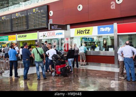 Hertz Car Rental Barcelona Airport