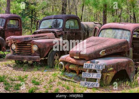 Rust in Peace - Stock Photo