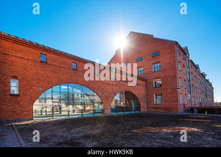 COPENHAGEN, DENMARK - MARCH 11, 2017: DuPont Nutrition Biosciences building in Copenhagen - Stock Photo