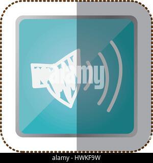 symbol volume technology icon - Stock Photo